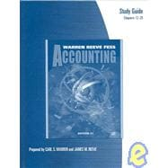 Study Guide to Accounting Chapters 12-25