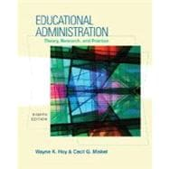 Educational Administration : Theory, Research, and Practice