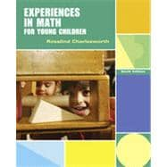 Experiences in Math for Young Children, 6th Edition