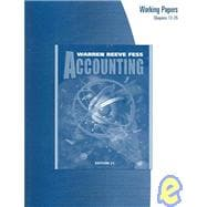 Accounting Working Papers Chapters 12-25