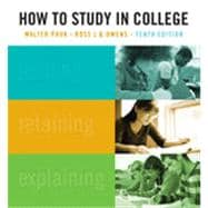 How to Study in College, 10th Edition