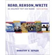 Read, Reason, Write : An Argument Text and Reader
