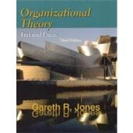 Organizational Theory Text & Cases (3rd Ed)