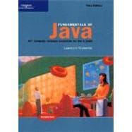 Fundamentals of Java AP* Computer Science Essentials for the A Exam