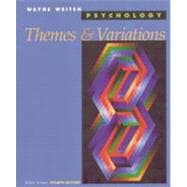 Psychology Themes and Variations, Briefer Version (Paperbound)