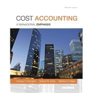 Cost Accounting Plus NEW MyAccountingLab with Pearson eText -- Access Card Package