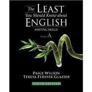 Least You Should Know about English : Writing Skills, Form A