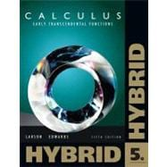 Calculus Early Transcendental Functions, Hybrid (with Enhanced WebAssign Homework and eBook LOE Printed Access Card for Multi Term Math and Science)