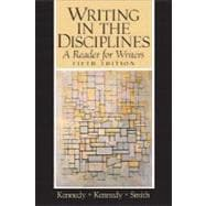 Writing in the Disciplines : A Reader for Writers