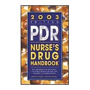 Pdr Nurse's Drug Handbook, 2003