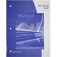 Note Taking Guide for Stewart/Redlin/Watson�s Precalculus: Mathematics for Calculus, 7th