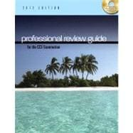 Professional Review Guide for the CCS Examination, 2012 Edition (with CD-ROM)