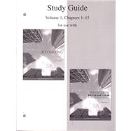 Study Guide, Volume 1, Chapters 1-15 to accompany Financial Accounting 14e, and Financial & Managerial Accounting 15e