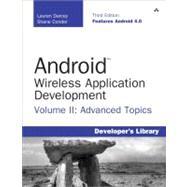 Android Wireless Application Development Volume II Advanced Topics