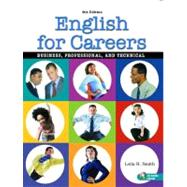 English for Careers : Business, Professional, and Technical