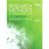 Research Methods A Tool for Life Plus MySearchLab with eText -- Access Card Package