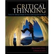 Critical Thinking Tools for Taking Charge of Your Learning and Your Life Plus NEW MyStudentSuccessLab -- Access Card Package