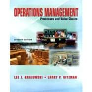 Operations Management: Process and Value Chains and Student CD Package