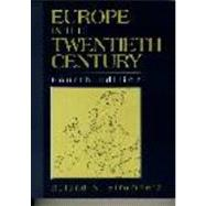Europe In The Twentieth Century- (Value Pack w/MySearchLab)