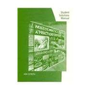 Student Solutions Manual for Johnson/Mowry's Mathematics: A Practical Odyssey, 7th