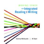 Making Sense with Integrated Reading and Writing Plus MySkillsLab with Pearson eText -- Access Card Package