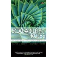 Scalability Rules 50 Principles for Scaling Web Sites