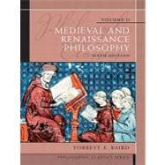 Philosophic Classics, Volume II : Medieval and Renaissance Philosophy