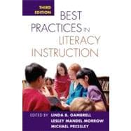 Best Practices in Literacy Instruction, Third Edition