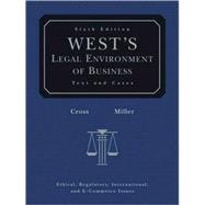 West's Legal Environment of Business (with Online Business Guide)