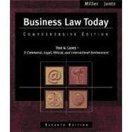 Business Law Today Comprehensive (with Online Legal Research Guide)