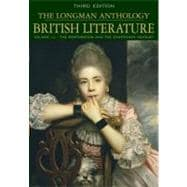 The Longman Anthology of British Literature, Volume 1C: The Restoration and the Eighteenth Century