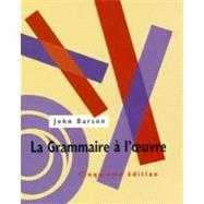 La Grammaire a l�oeuvre Text