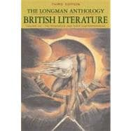 The Longman Anthology of British Literature, Volume 2A: The Romantics and Their Contemporaries
