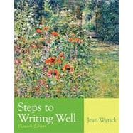 Steps To Writing Well