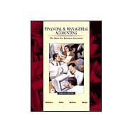 Financial and Managerial Accounting Package (With CD-ROM Net Tutor and Powerweb)