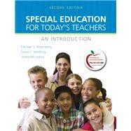 Special Education for Today's Teachers An Introduction