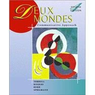 Deux mondes: A Communicative Approach (Student Edition) + Listening Comprehension Audio CD