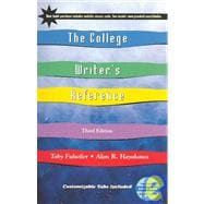 College Writer's Reference with APA Updates and Companion Website Subscription