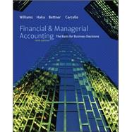 Financial &amp; Managerial Accounting with Connect Plus