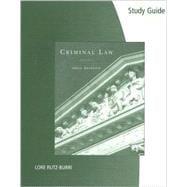 Study Guide for Samaha�s Criminal Law, 9th