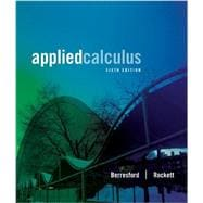 Student Solutions Manual for Berresford/Rockett�s Applied Calculus, 6th