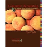 Computer Accounting with Peachtree Complete by Sage Complete Accounting 2012 CD