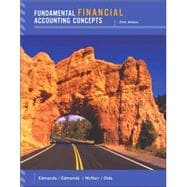 Fundamental Financial Accounting Concepts with Annual Report