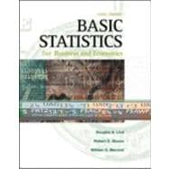 Basic Statistics for Business and Economics (with CD)