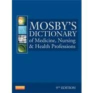 Mosby's Dictionary of Medicine, Nursing, and Health Professions (Book with CD-ROM)