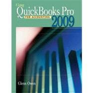 Using Quickbooks Pro 2009 for Accounting (with CD-ROM)