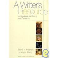 Writer's Resource: A handbook for writing and research