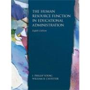 The Human Resource Function in Educational Administration