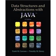 Data Structures and Abstractions with Java
