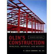 Olin's Construction: Principles, Materials, and Methods, 8th Edition